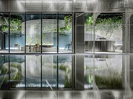 水上的白色花园丨超现实主义咖啡馆打造城市记忆封面
