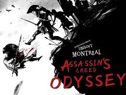 《游戏海报电影化》第二期 刺客信条奥德赛