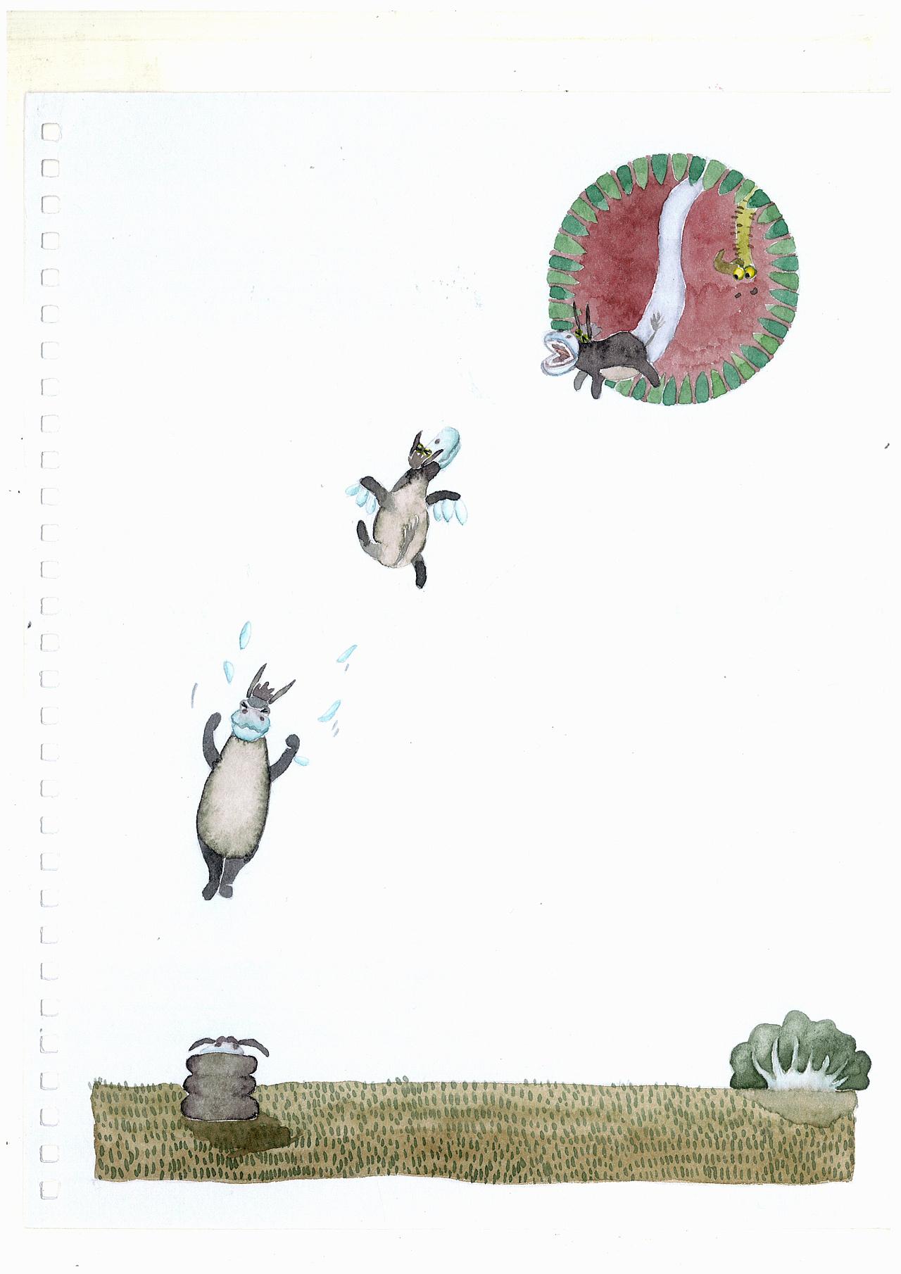 毛驴拉磨图片
