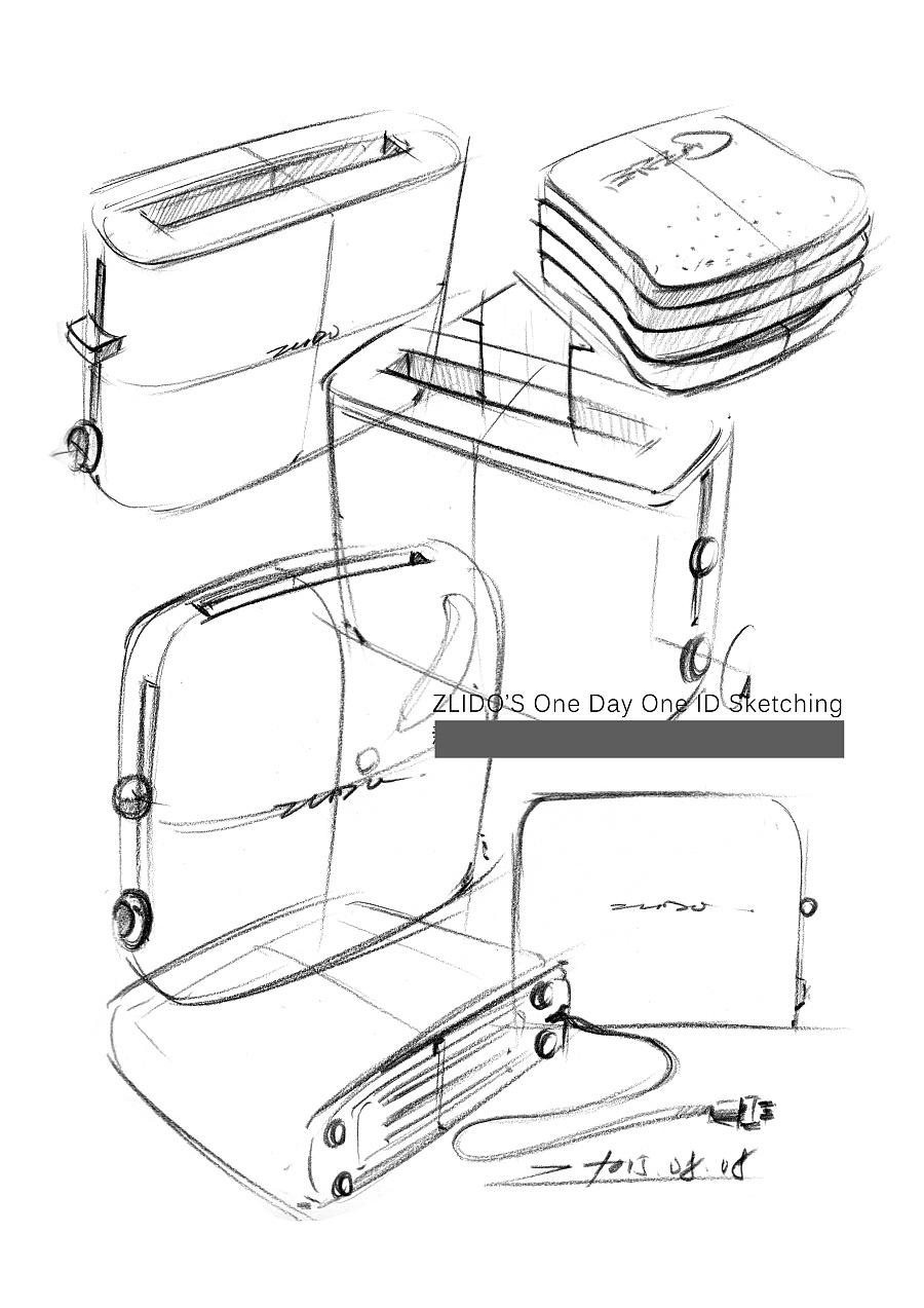 2015产品设计手绘8月 一日一画|其他产品|工业/产品