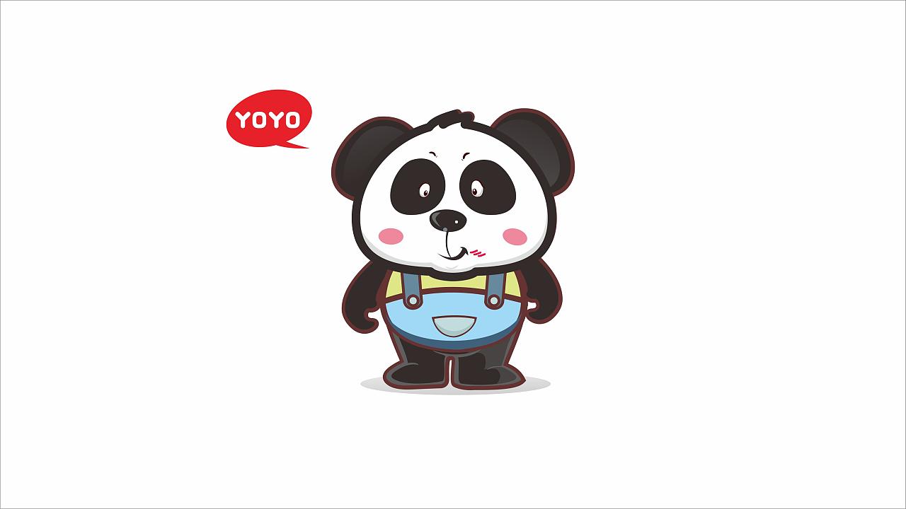 yoyo吉祥物设计图片