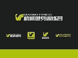 健身训练营的logo视觉提案稿