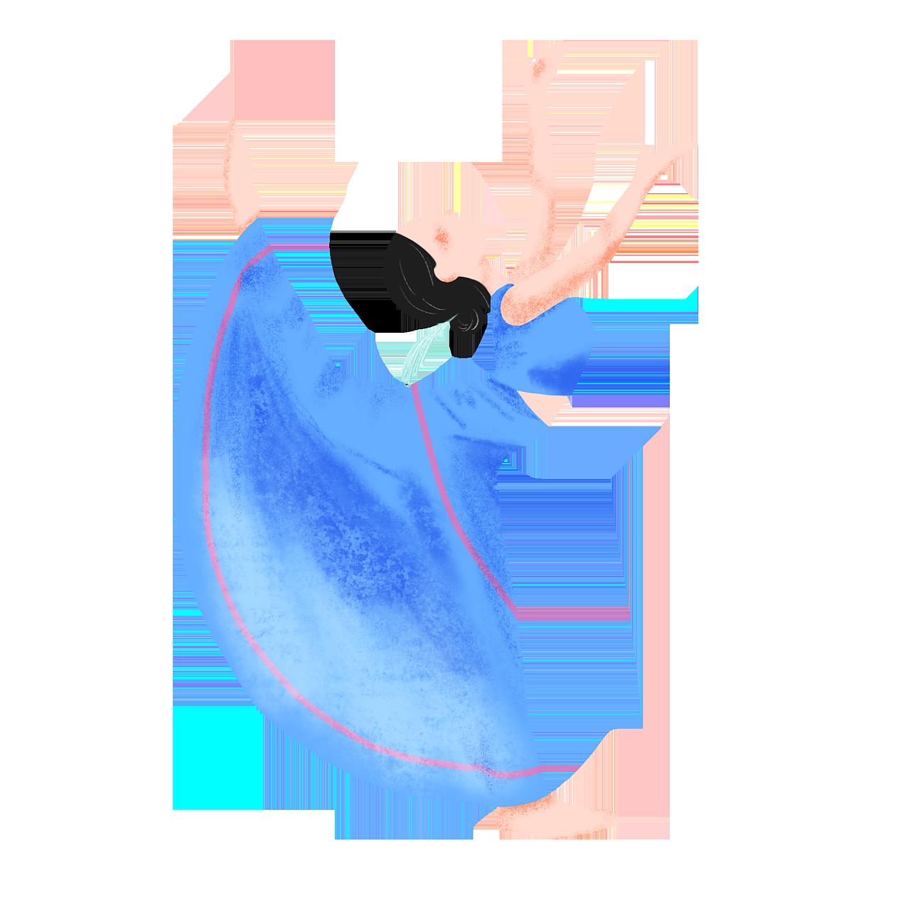 儿童舞蹈视频民族舞_民族舞|插画|儿童插画|十曰 - 原创作品 - 站酷 (ZCOOL)