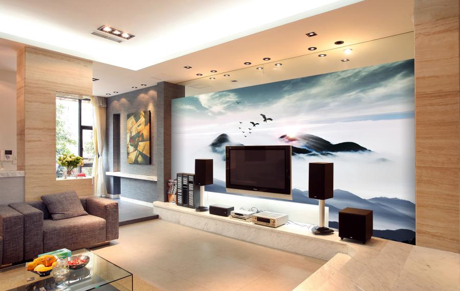 背景墙 设计 电视/现代中式电视背景墙设计