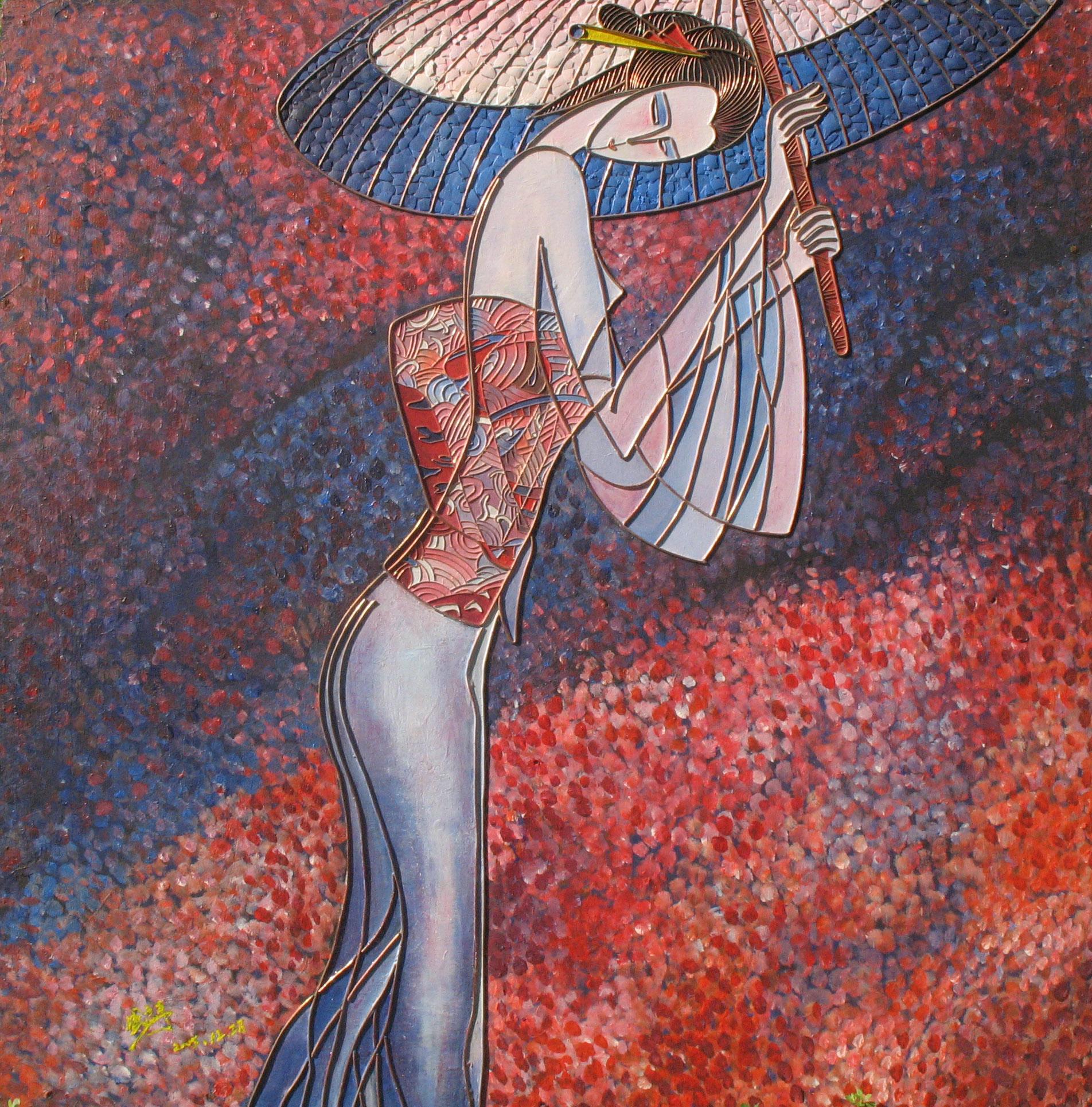 装饰画 抽象派 现代装饰画 古典 美女