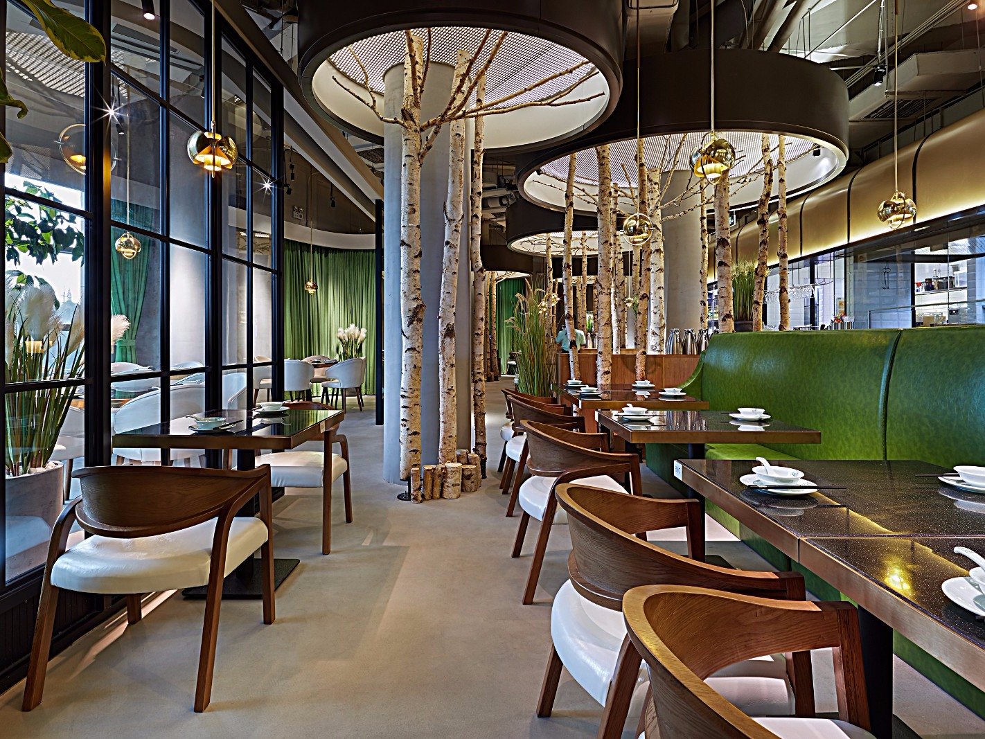 森林里的点心主义餐厅-黑龙江餐厅设计 黑龙江餐厅装修图片