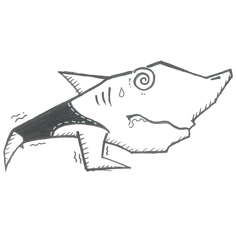 手绘《鲨鱼菲特》