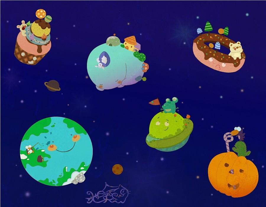 北京市 / 绘画/插画师 3年前发布        你想去哪个星球图片
