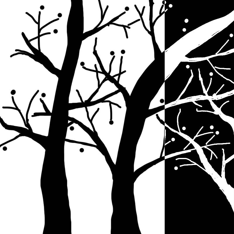 装饰画-树图片