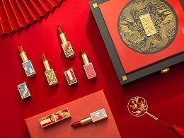 「造图舍」colourfeel口红礼盒中国风产品摄影精修