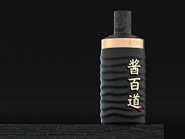 酱百道 创意酒包装设计