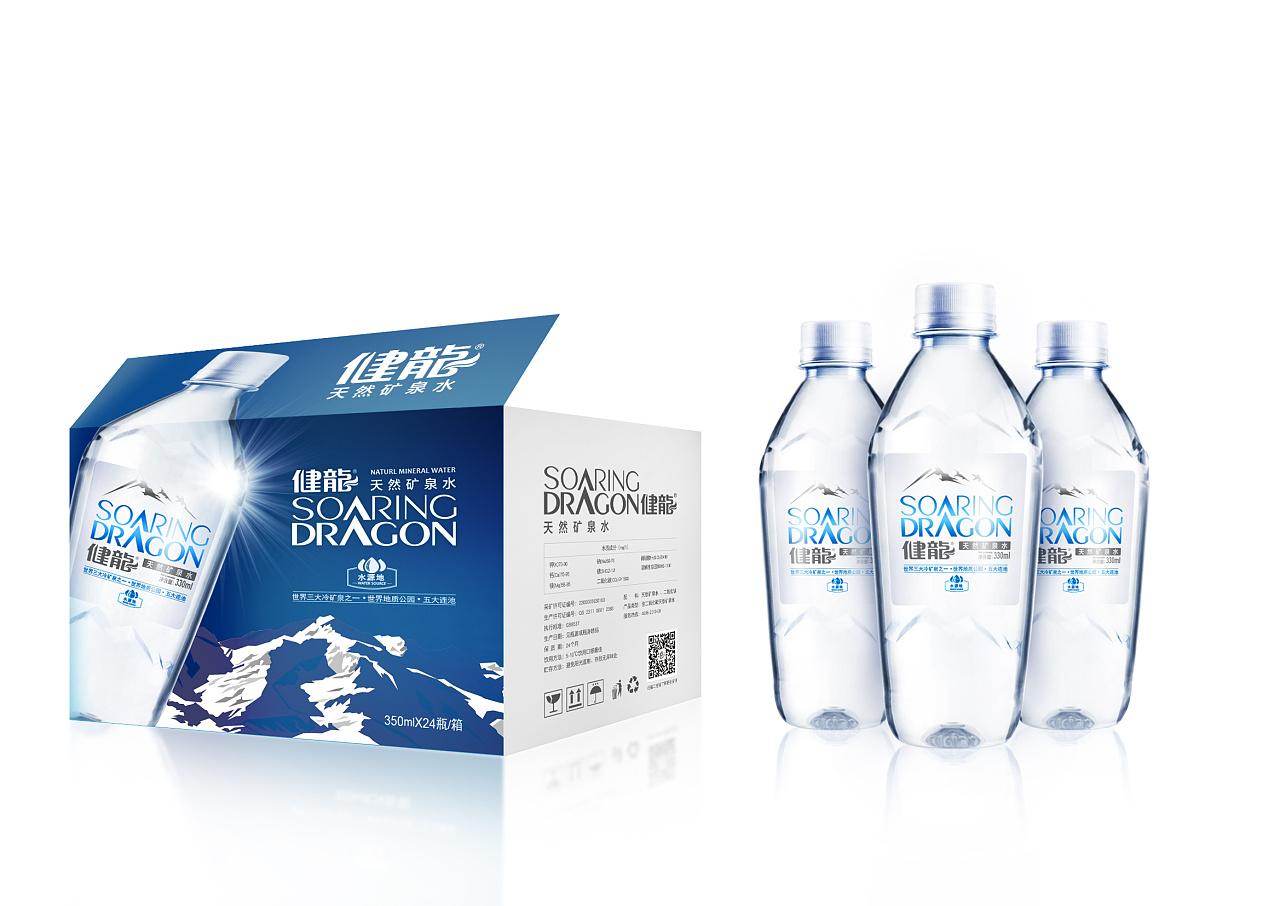 健龙矿泉水包装设计