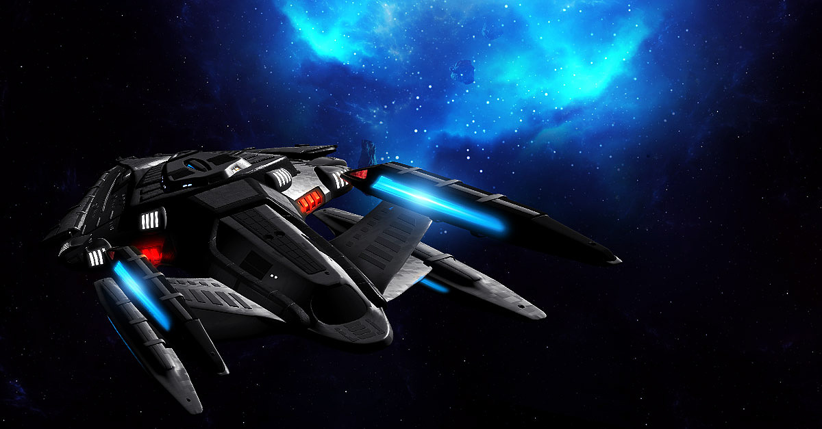 星际迷航 facebook广告图 宇宙飞船星空图片