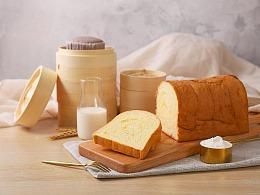 早餐点心蒸蛋糕吐司摄影|美食摄影|上海魔摄视觉