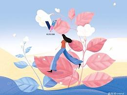 vlinecool饮品包装插画