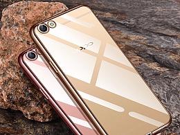 电镀透明壳   手机壳  精修精画产品详情页设计