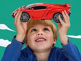JZ两款遥控玩具车详情内页制作