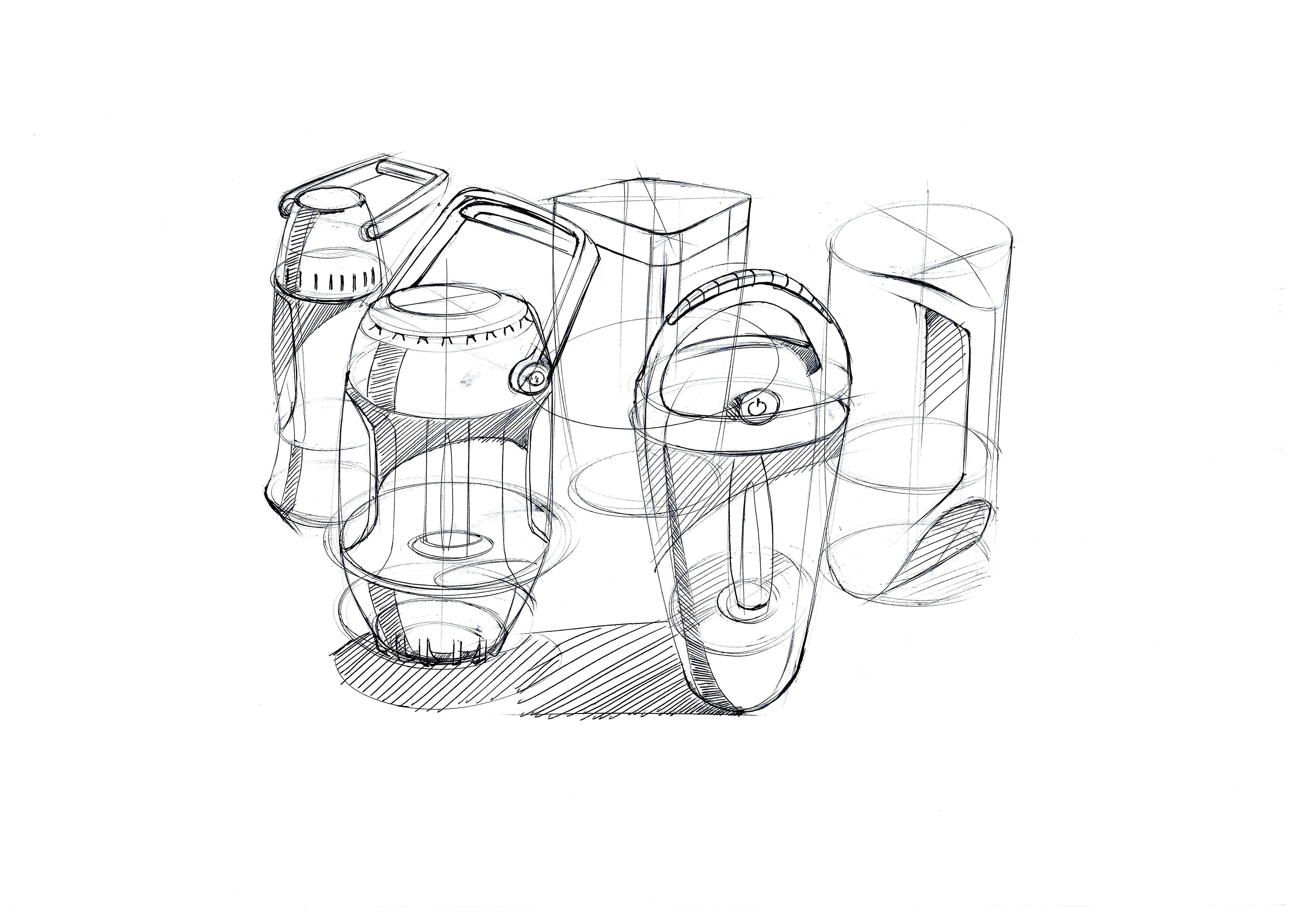 产品手绘习作|工业/产品|生活用品|shadolu - 原创