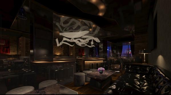汉中酒吧装修设计公司《夜遇概念清吧设计》|舞台