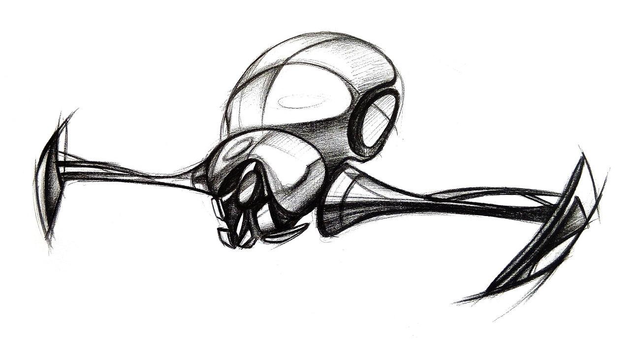 手绘练习 插画 其他插画 捉不住南飞的鸟儿 - 原创