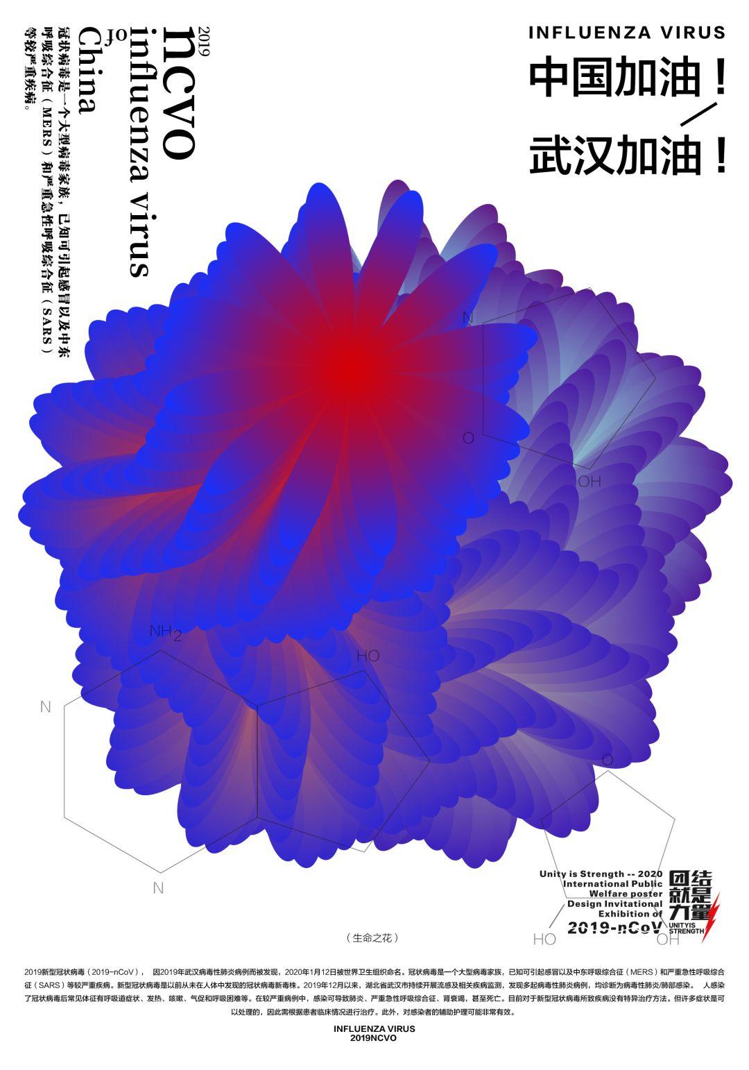 """团结就是力量——2020抗击""""新型冠状病毒""""国际公益海报设计邀请展纪实合集一插图(11)"""