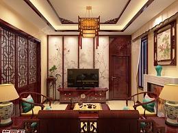 中式装修 起居室装修
