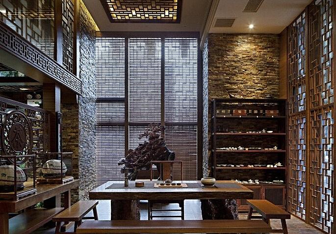 茶楼设计                  ——香港古兰装饰 项目名称:顺义号茶馆图片
