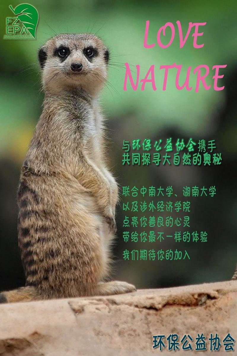 环保社团招新海报