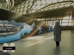 沉浸式影像装置 | 深圳市城市规划展 · 深圳长卷