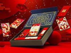 王者荣耀新春礼盒设计