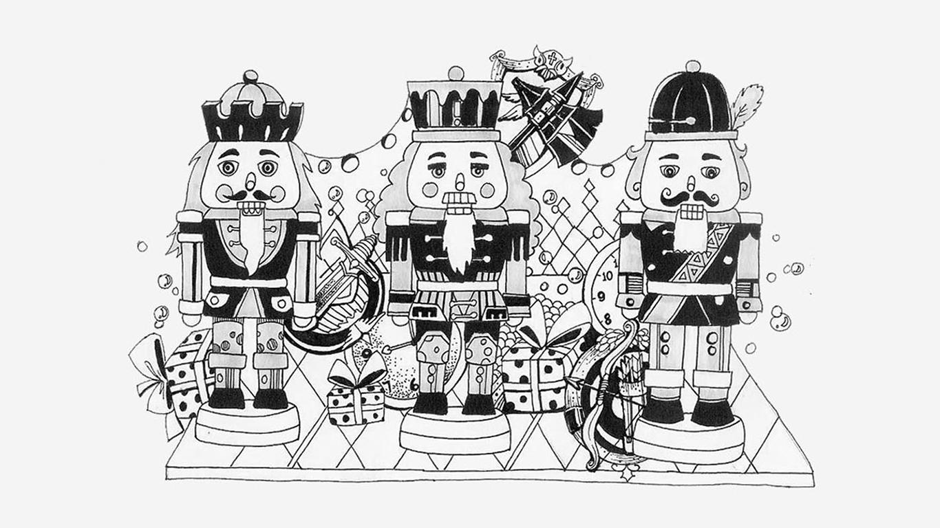 一些黑白手绘|插画|商业插画|斯呆拉sister - 原创