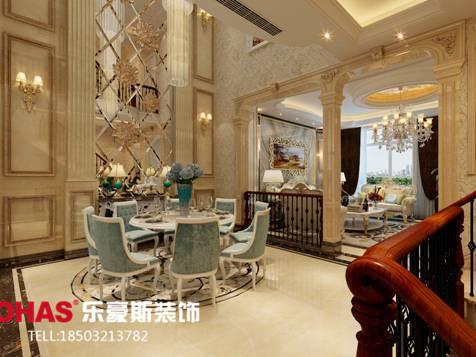 碧桂园别墅g户型欧式装修效果图|室内设计|空间/建筑
