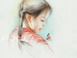《女孩与蝶》