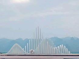见山-贵州兴义万峰林景区主题雕塑