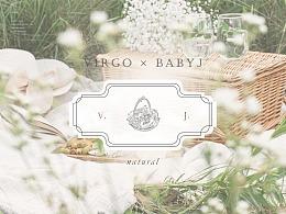 virgoXbabyj澳门天然果蔬干品牌logo设计