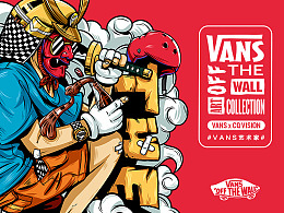 #OFF THE WALL#  VANS图案设计
