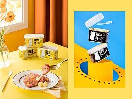 猪掌门✖️有食|火腿罐头拍摄
