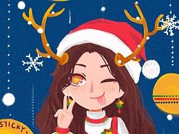 ʚ✿婳漓✿ɞ΅原创΅蜡风 -圣诞的美