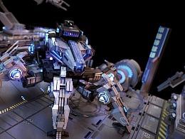 科幻机甲概念设计方案——MechStorm试做机