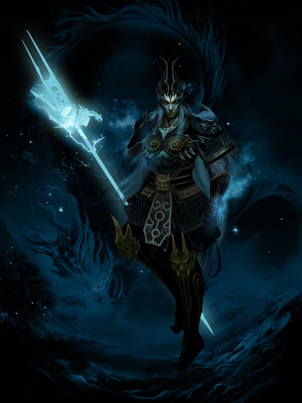 深海的黑暗势力大举入侵,身为海族的王.它召唤出冥力量.