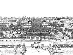 钢笔手绘《北京·故宫》