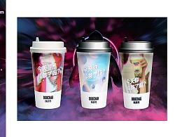 茶饮全案设计-奶茶全案设计vi设计