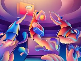 跨设备游戏体验——插画