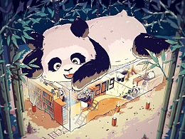 熊猫宝宝和2019的小伙伴们