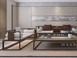 雅园设计 | 新中式 · 虚室有余闲