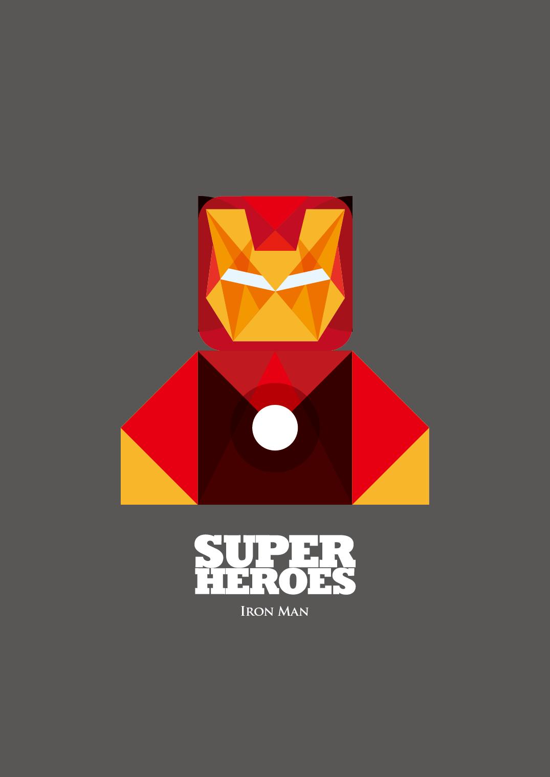 抽象超级英雄