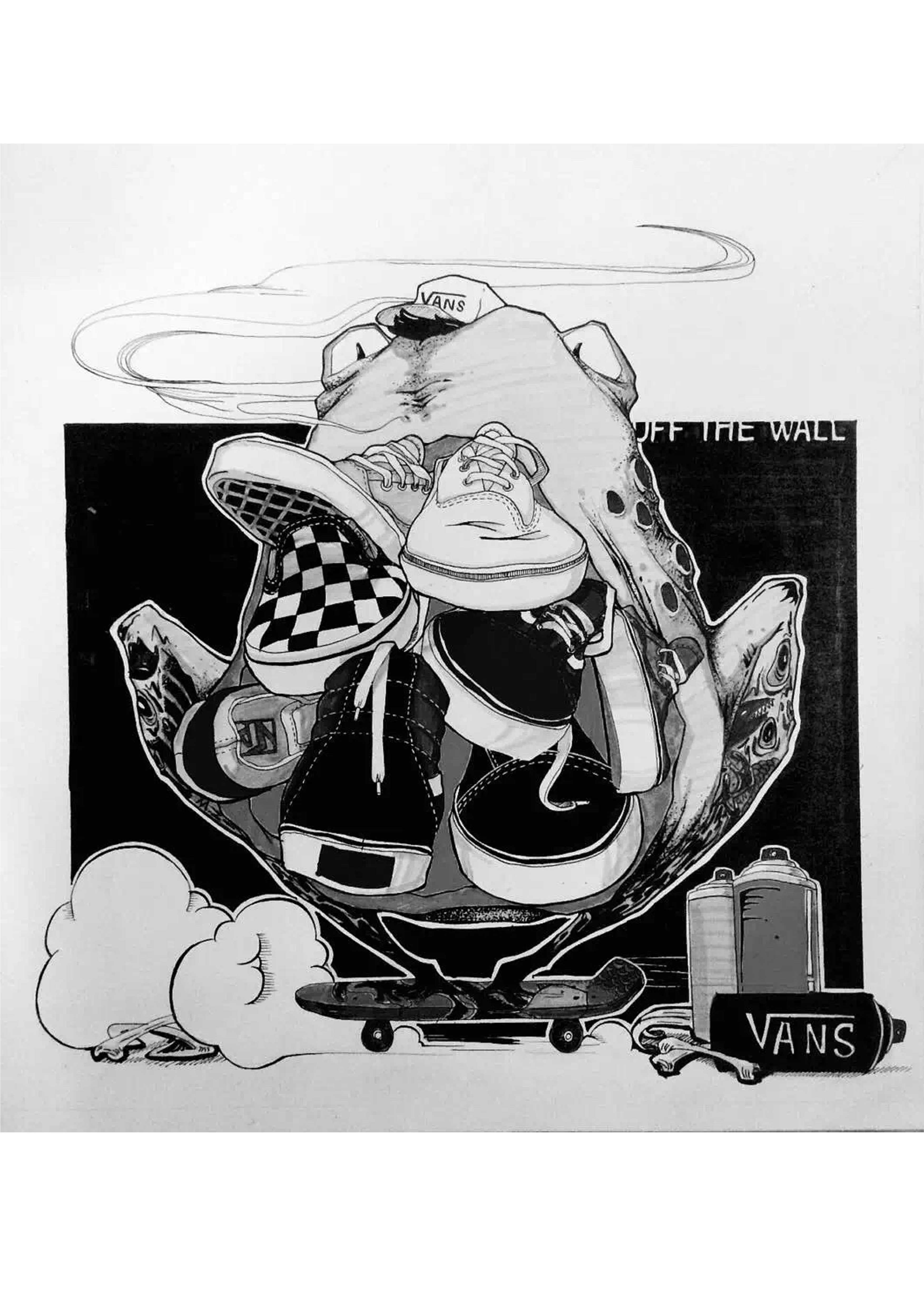 平时画插画手绘|插画|商业插画|甄三水 - 原创作品