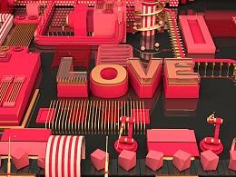 3D模型-爱的小工厂
