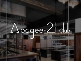 APOGEE CLUB LOGO _ 酒吧logo设计