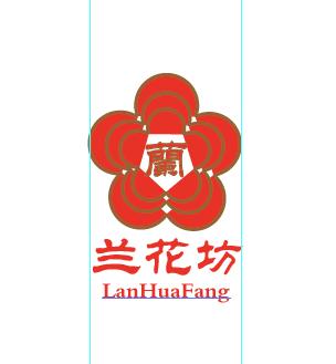 兰花坊logo设计